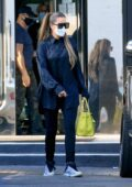 Khloé Kardashian and Tristan Thompson seen leaving after some shopping at XIV Karats in Beverly Hills, California