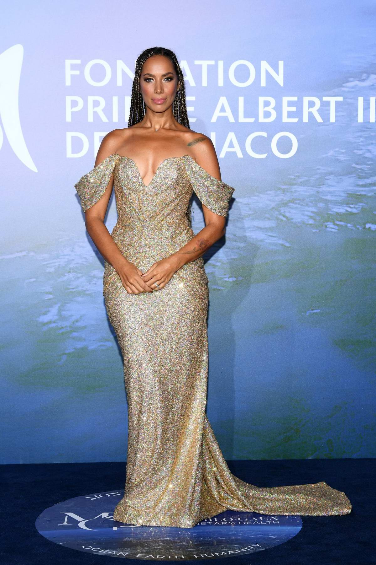 Leona Lewis attends the Monte Carlo Gala For Planetary Health in Monte Carlo, Monaco