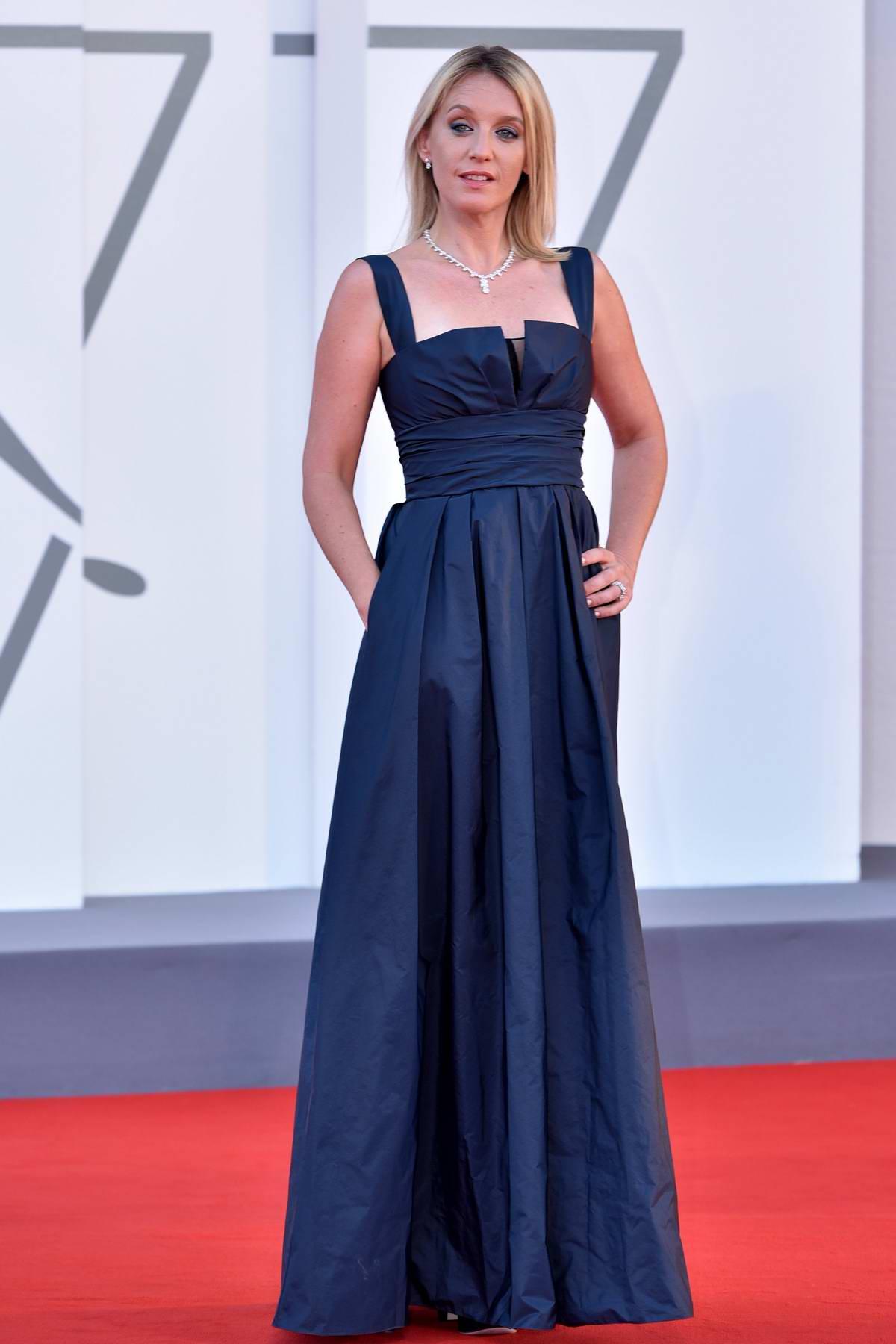 Ludivine Sagnier attends the Closing Ceremony of the 77th Venice Film Festival in Venice, Italy