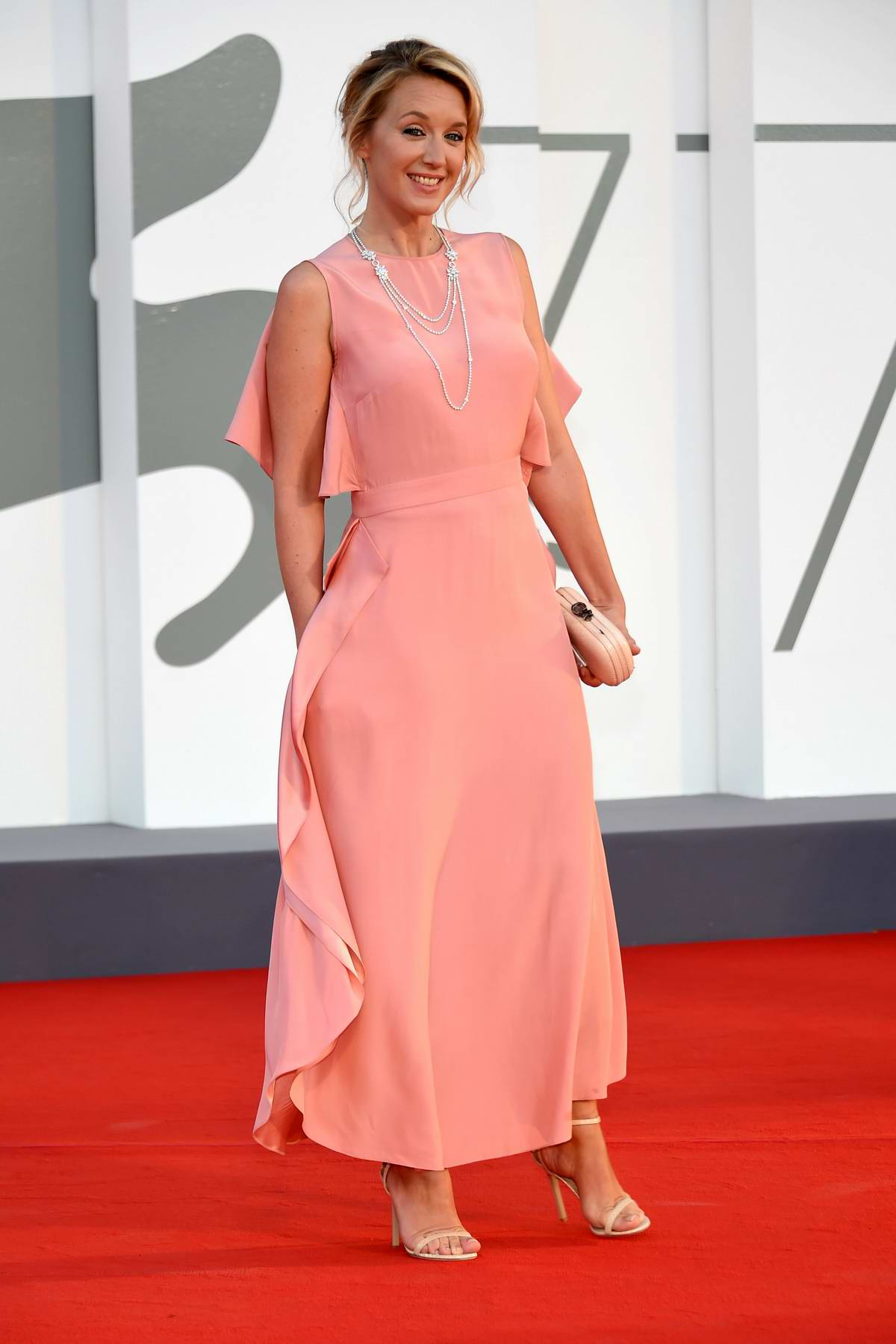 Ludivine Sagnier attends the 'Lovers' Premiere during the 77th Venice Film Festival in Venice, Italy