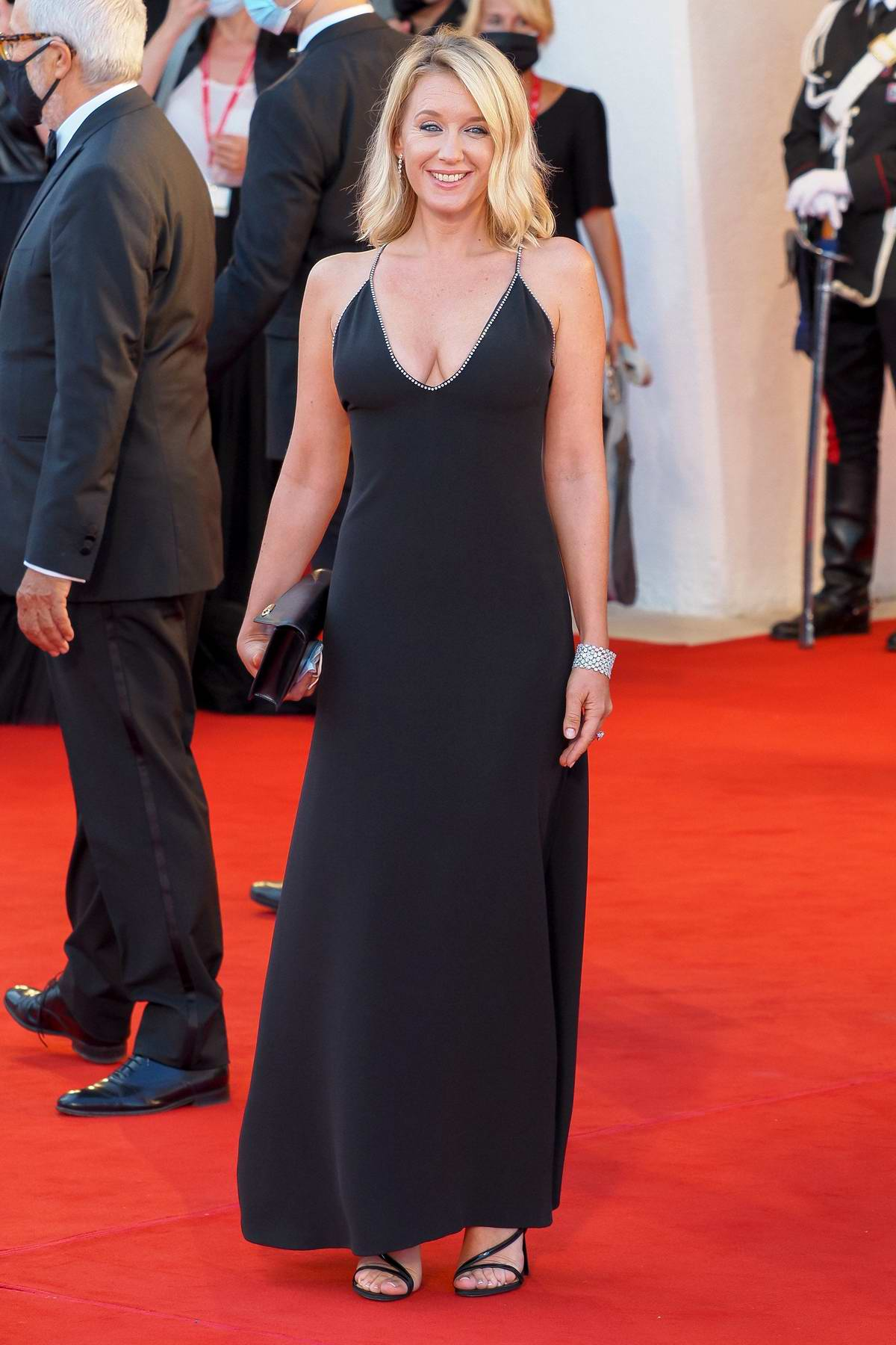 Ludivine Sagnier attends the Opening Ceremony and 'Lacci' Premiere during the 77th Venice Film Festival in Venice, Italy