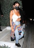 Madison Beer seen leaving a party with her friends in Hollywood, California
