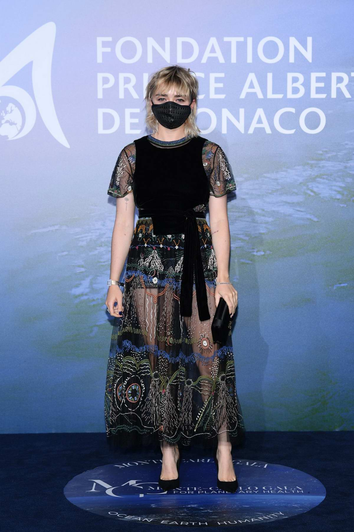 Maisie Williams attends the Monte Carlo Gala For Planetary Health in Monte Carlo, Monaco