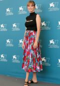 Maya Hawke attends 'Mainstream' Photocall during the 77th Venice Film Festival in Venice, Italy