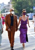 Nathalie Emmanuel and Alex Lanipekun seen arriving at the 77th Venice Film Festival Venice, Italy