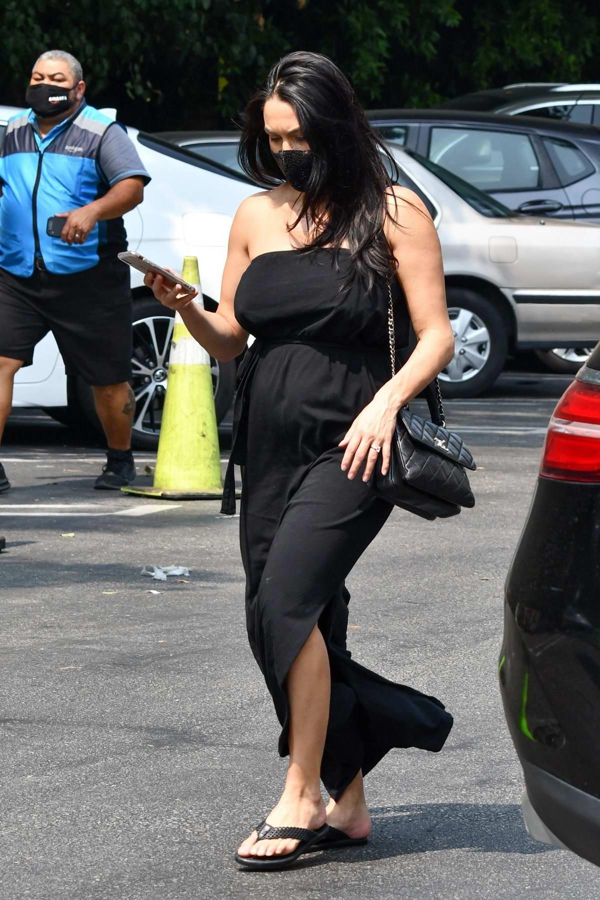 Feet nikki bella Pregnant Nikki