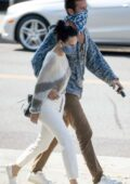 Rumer Willis and Armie Hammer keep close after dining out together in Los Angeles