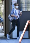 Sarah Michelle Gellar seen leaving after her pilates class in Brentwood, California