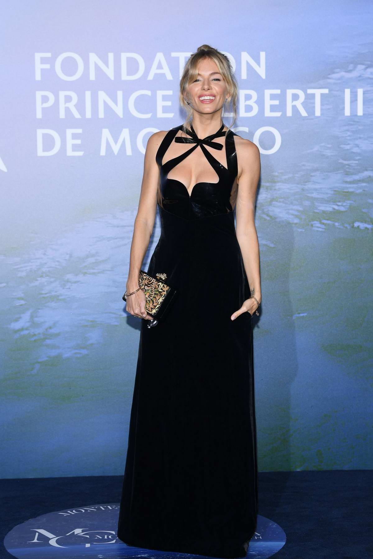 Sienna Miller attends the Monte Carlo Gala For Planetary Health in Monte Carlo, Monaco