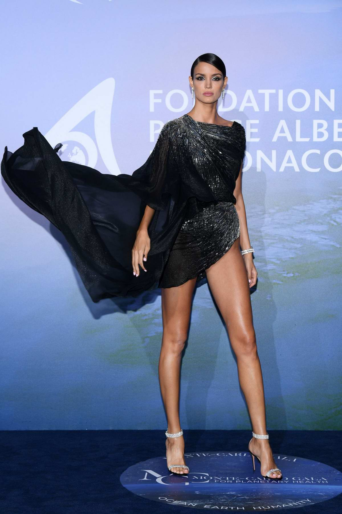 Sofia Resing attends the Monte Carlo Gala For Planetary Health in Monte Carlo, Monaco