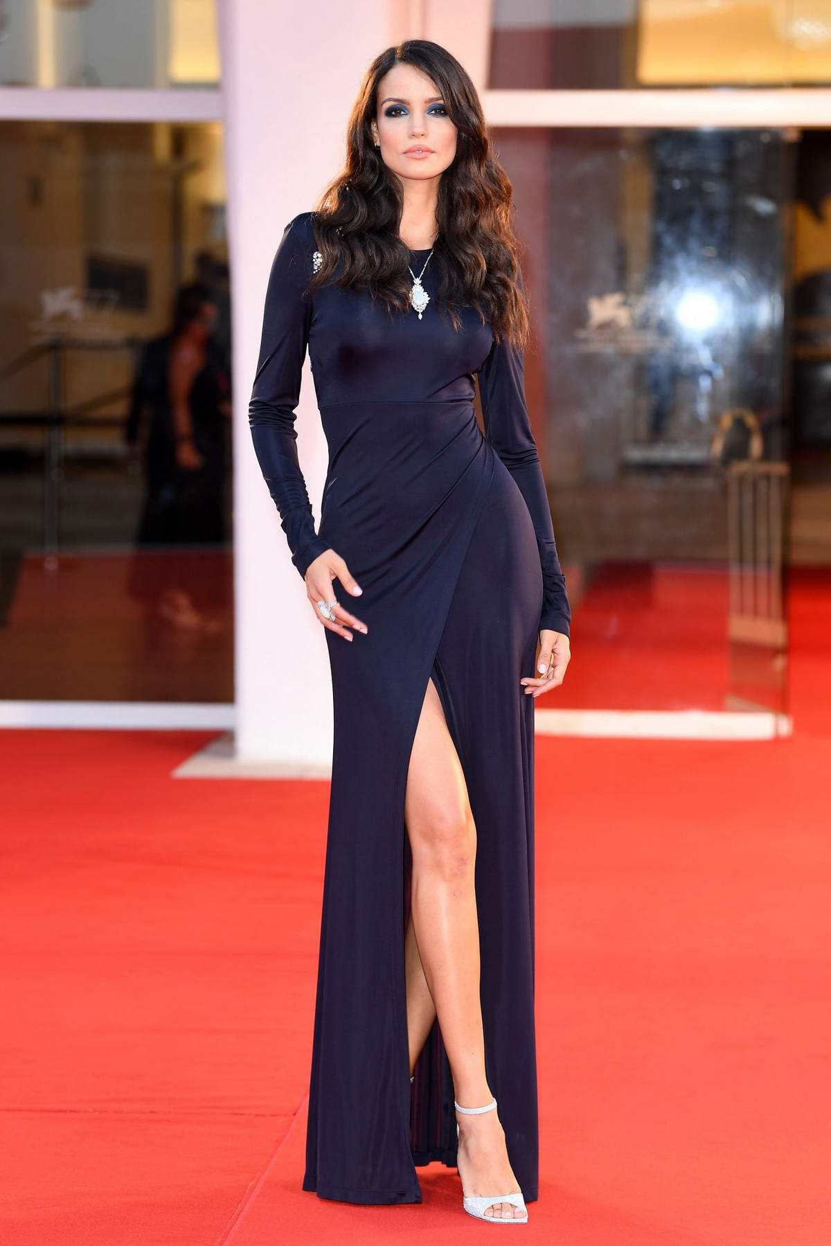 Sofia Resing attends the Premiere 'The World To Come' during the 77th Venice Film Festival in Venice, Italy