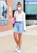 Taylor Hill touches down at the Venice airport for the 77th Venice Film Festival, Venice, Italy
