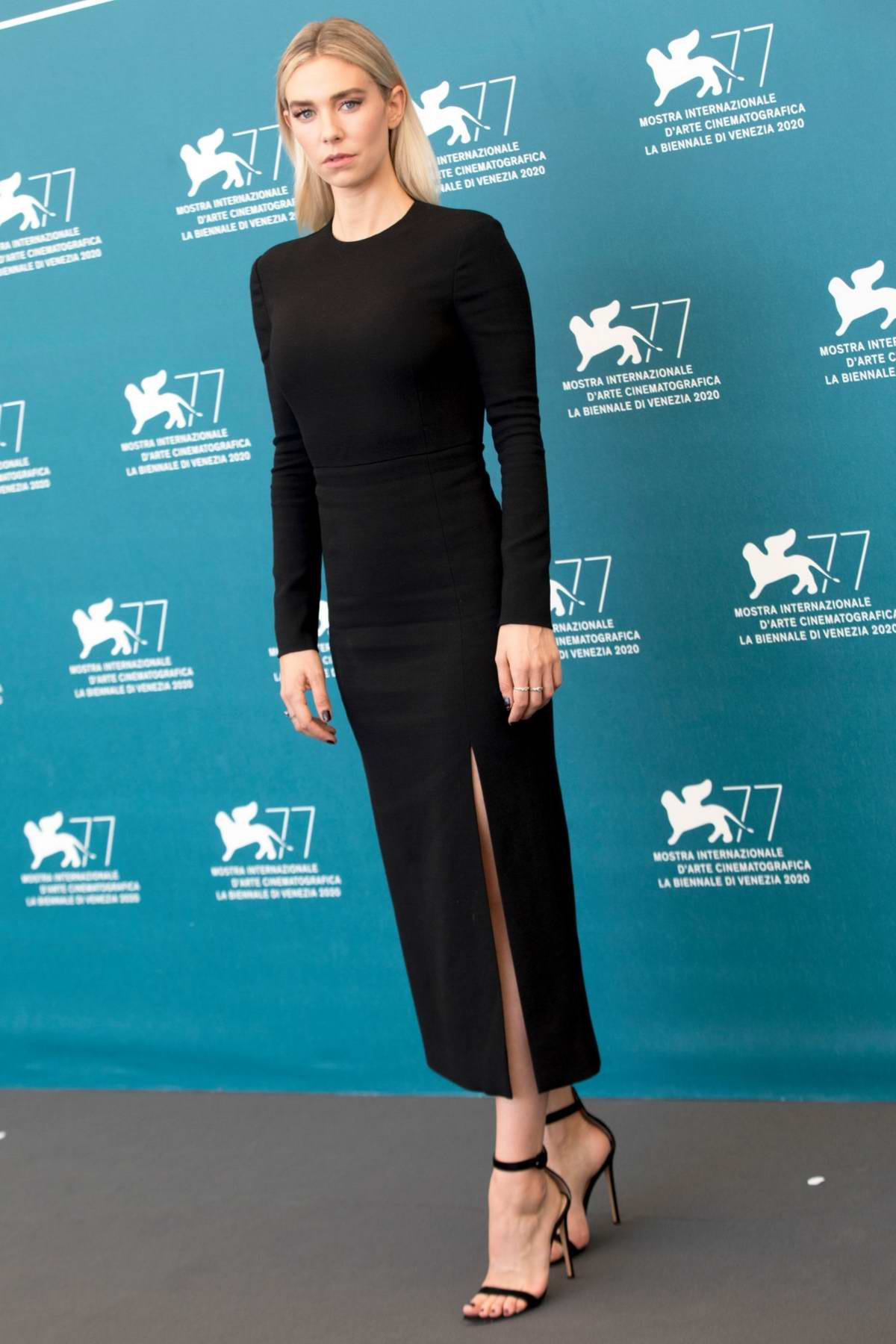 Vanessa Kirby attends 'Pieces of a woman' Photocall during the 77th Venice Film Festival in Venice, Italy