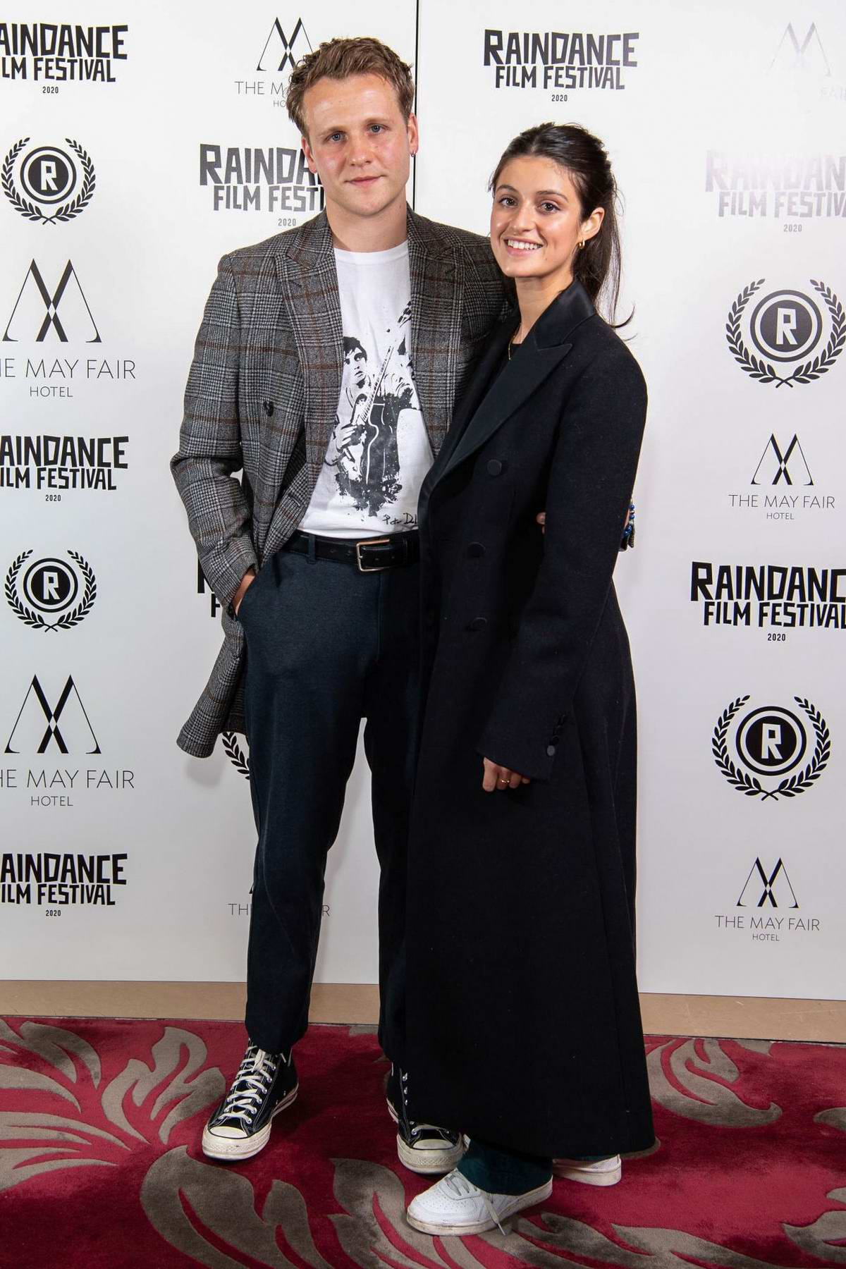 Anya Chalotra attends the 'Stardust' Premiere during 2020 Raindance Film Festival in London, UK