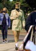 Bella Hadid looks stunning in a Michael Kors outfit while out with friends in New York City