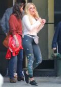 Busy Philipps seen filming a scene for 'Girls5Eva' in New York City