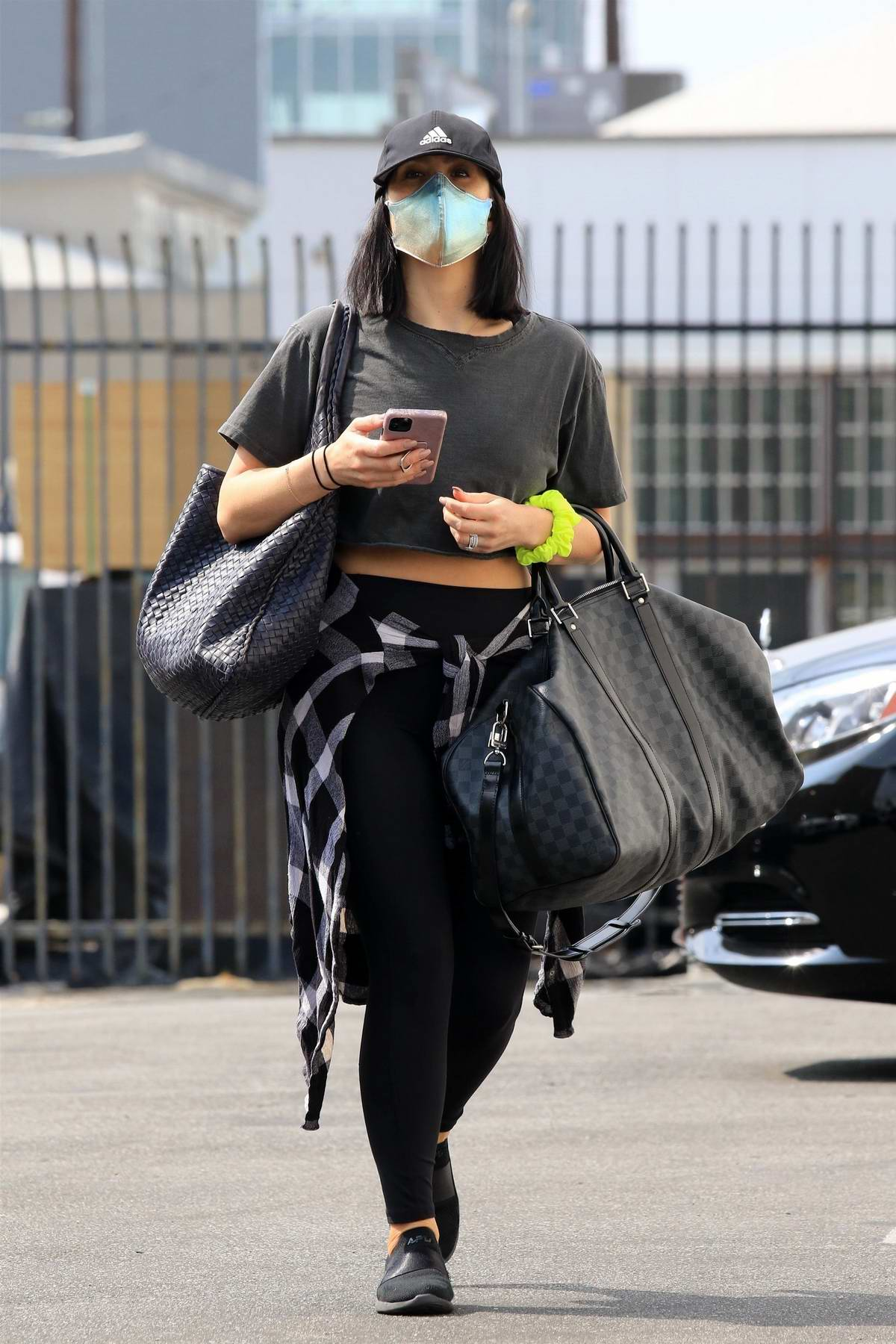 Cheryl Burke seen leaving after dance practice at DWTS studio in Los Angeles