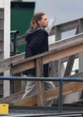 Chloe Grace Moretz spotted on the set of 'Mother/Android' in East Boston, Massachusetts