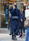 Dianna Agron puts on a stylish display while out for stroll in the upper west side in New York City