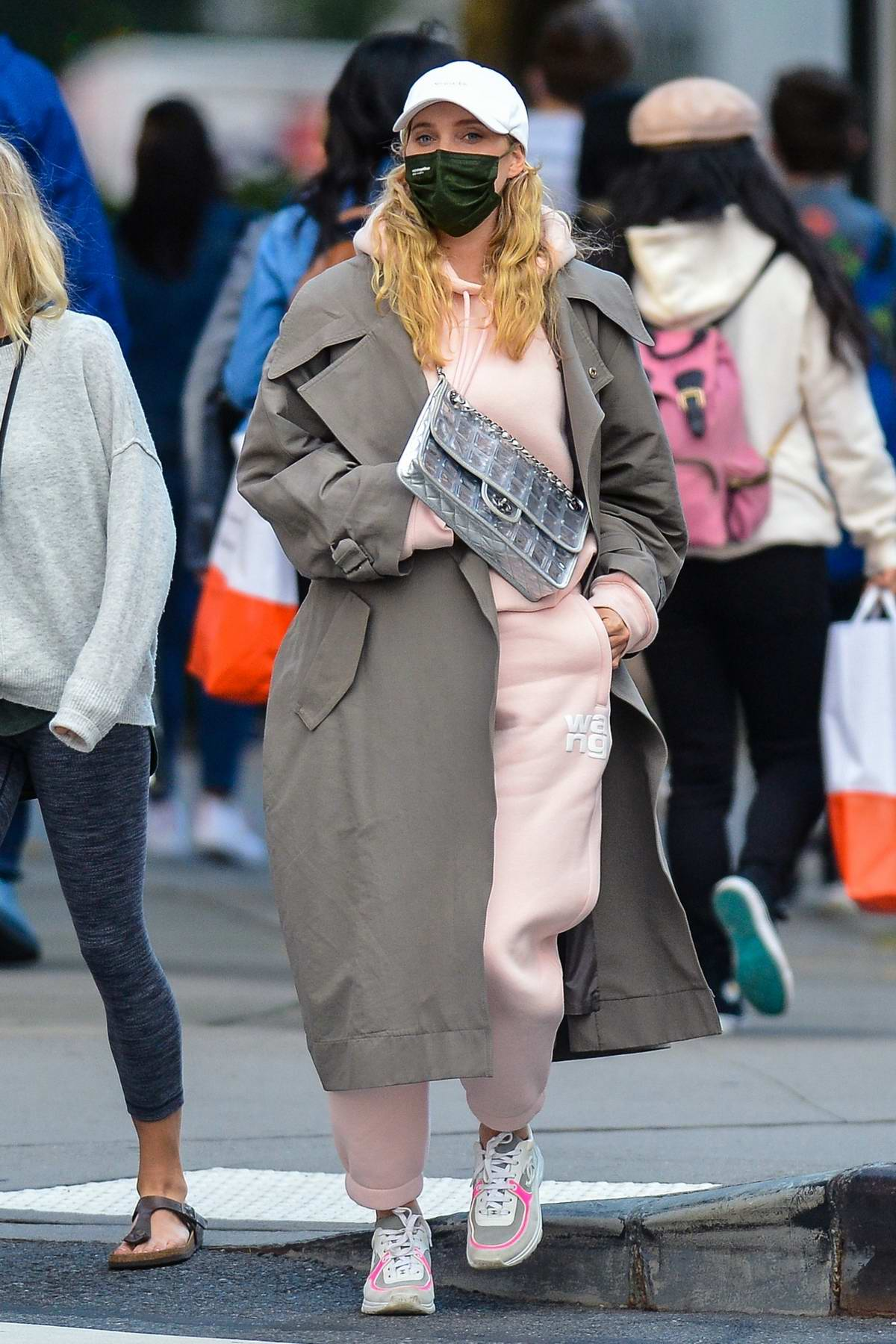 Elsa Hosk and Tom Daly spotted out after lunch in downtown Manhattan, New York City