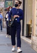 Hayley Atwell steps out for some shopping in downtown Rome, Italy