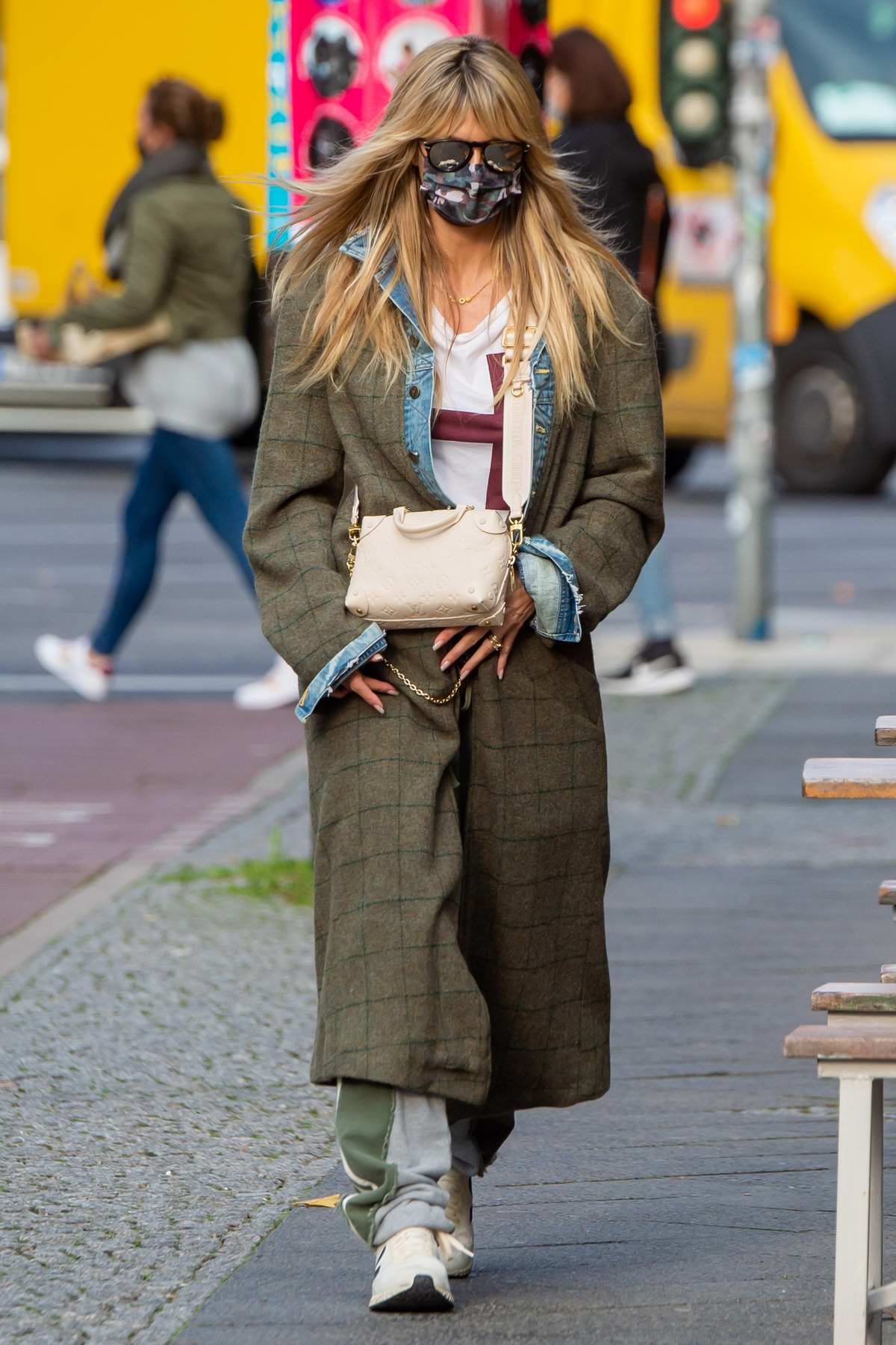 Heidi Klum steps out for some shopping in Berlin, Germany