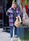 Hilary Duff keeps it cozy while out with her daughter in New York City
