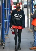 Irina Shayk puts on a stylish display as she heads to a meeting in New York City