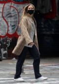 Jennifer Lawrence steps out for a stroll with husband Cooke Maroney in New York City