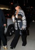Jennifer Lopez seen leaving a business meeting holding her glittery travel mug in Hollywood, California