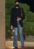 Kaia Gerber enjoys a date night with Jacob Elordi at Nobu in Malibu, California