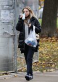 Kaley Cuoco heads out for a spa day after completing her 14 day quarantine in Toronto, Canada