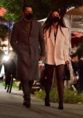 Katie Holmes and Emilio Vitolo Jr are all smiles while walking to late night dinner in New York City