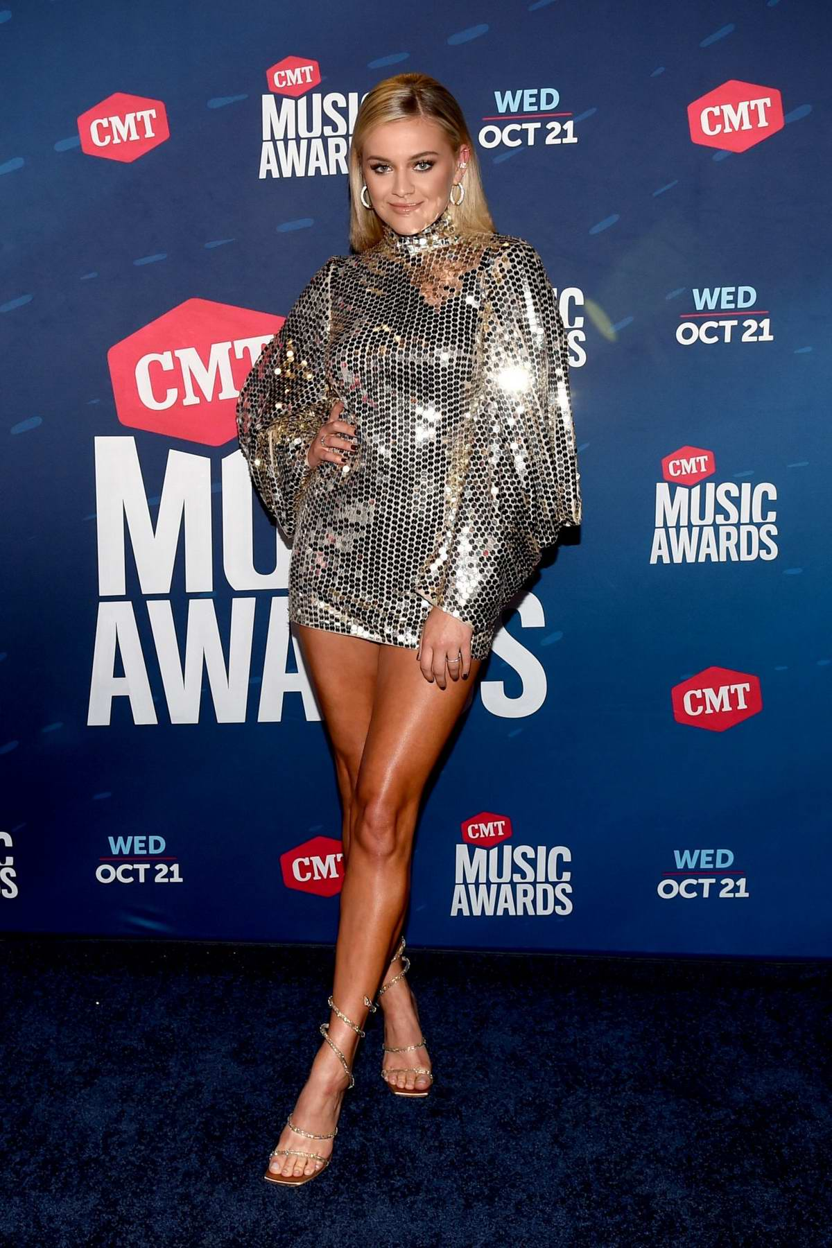 Kelsea Ballerini attends the 2020 CMT Awards in Nashville, Tennessee