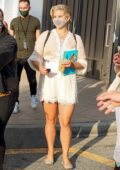 Lana Del Rey stops Barnes & Noble in The Grove to sign her new book 'Violet Bent Backwards Over the Grass' in Los Angeles