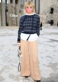 Maisie Williams attends the Chloe Spring-Summer 2021 show during Paris Fashion Week in Paris, France