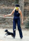 Malin Akerman spends time with husband Jack Donnelly and son Sebastian at Griffith Park in Los Angeles