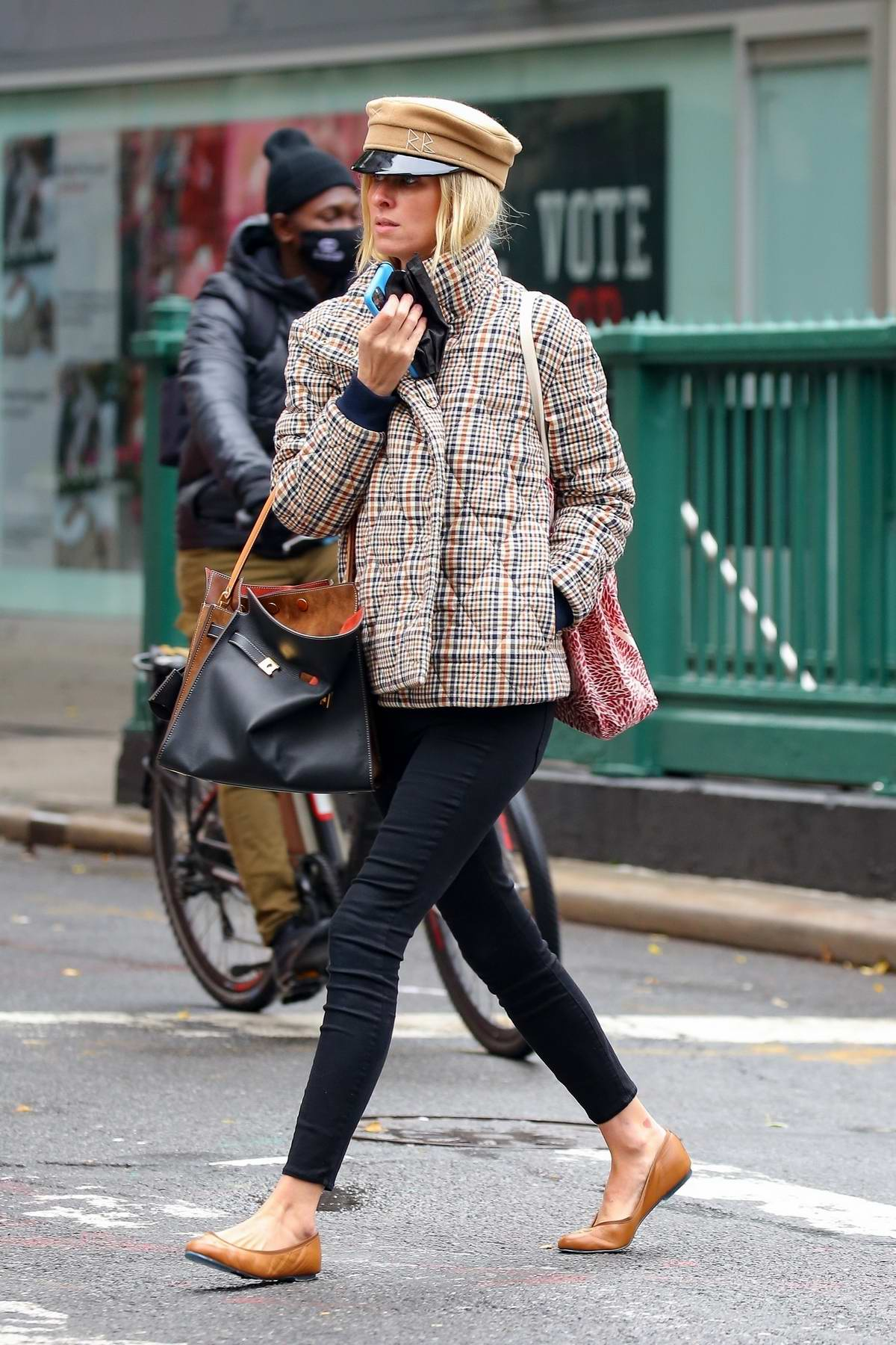 Nicky Hilton keeps a stylish low profile while out and in New York City