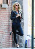 Nicky Hilton poses for photos during an impromptu shoot in the streets of SoHo, New York City