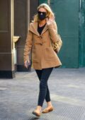 Nicky Hilton waves at the camera while out and about in New York City
