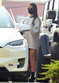Olivia Munn seen leaving her gym after a workout with a private trainer in Los Angeles