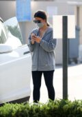 Olivia Munn spotted leaving a gym after her workout in Los Angeles