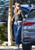 Olivia Wilde seen wearing 'I am a voter' mask while out running errands in Los Angeles