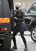 Pom Klementieff seen filming a fight scene for 'Mission Impossible 7' in Rome, Italy