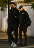 Rita Ora and boyfriend Romain Gavras enjoy a night out with Rita's sister Elena and her friend in Notting Hill, London, UK