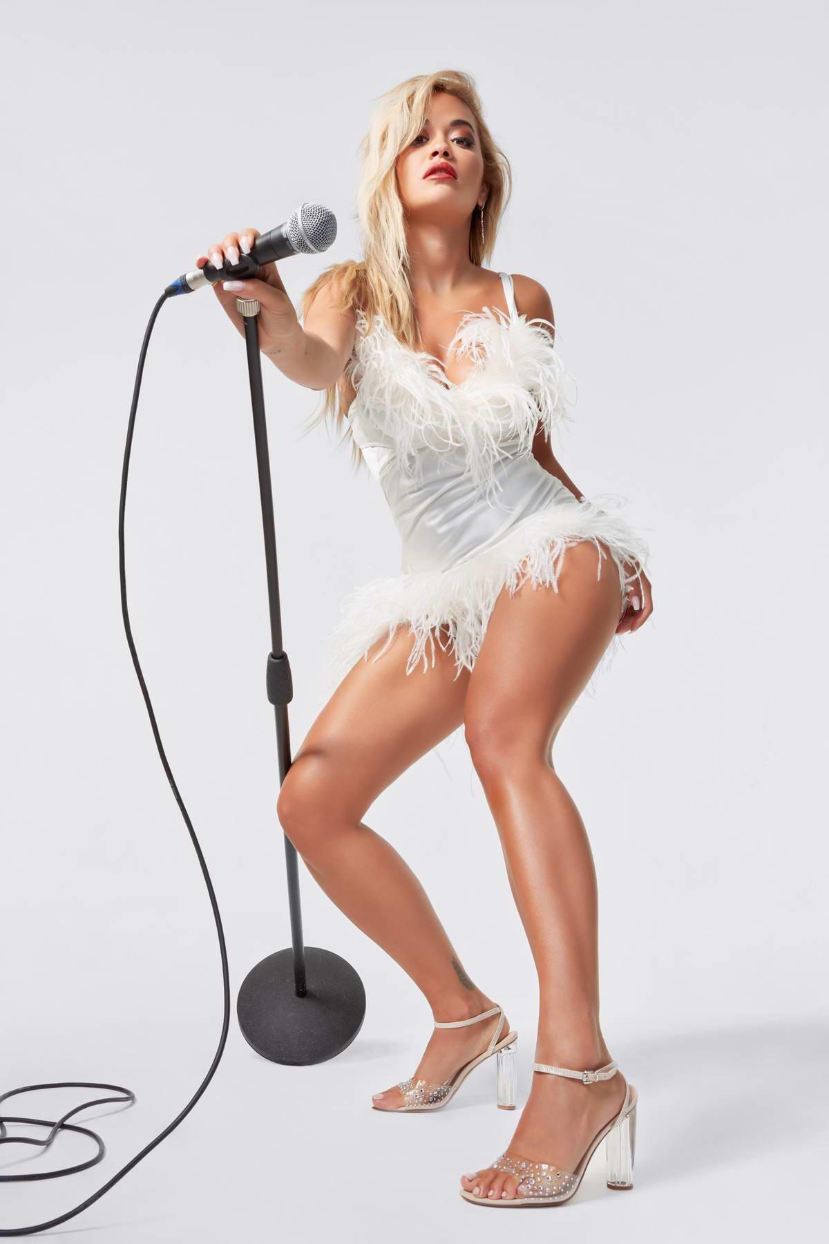 Rita Ora models for a new ShoeDazzle Campaign, October 2020