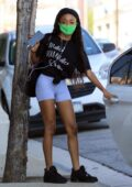 Skai Jackson seen leaving after her dance practice at the DWTS studio in Los Angeles
