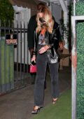 Sofia Richie seen leaving dinner with friends in Santa Monica, California