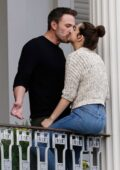 Ana de Armas and Ben Affleck pack on some PDA while taking a break from filming of 'Deep Water' in New Orleans, Louisiana