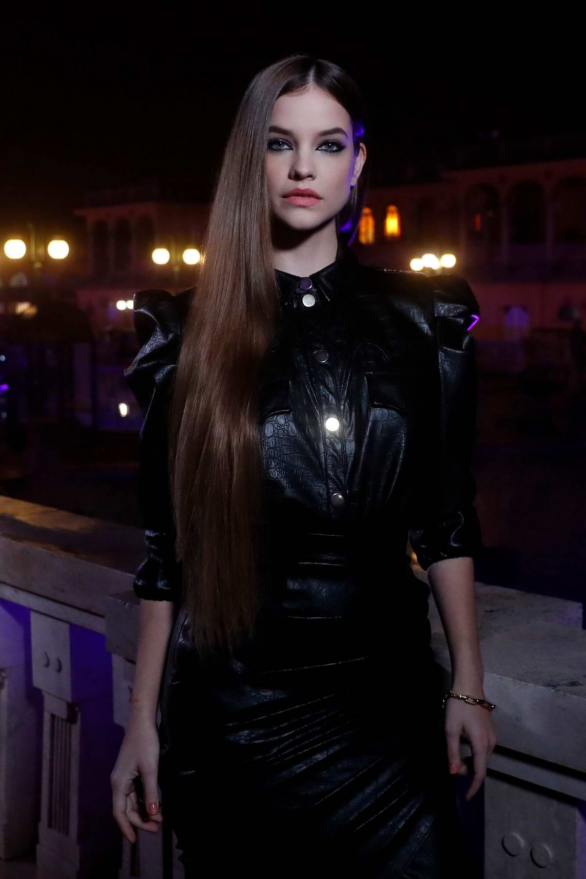 Barbara Palvin attends the 2020 MTV European Music Awards (MTV EMAs 2020) in Budapest, Hungary